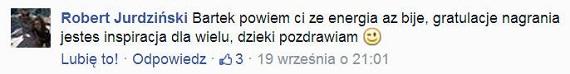 Facebook - Komentarz 1