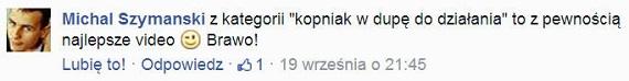 Facebook - Komentarz 2