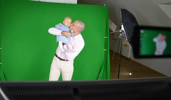 Studio Green Screen Nagrywanie Dzieci