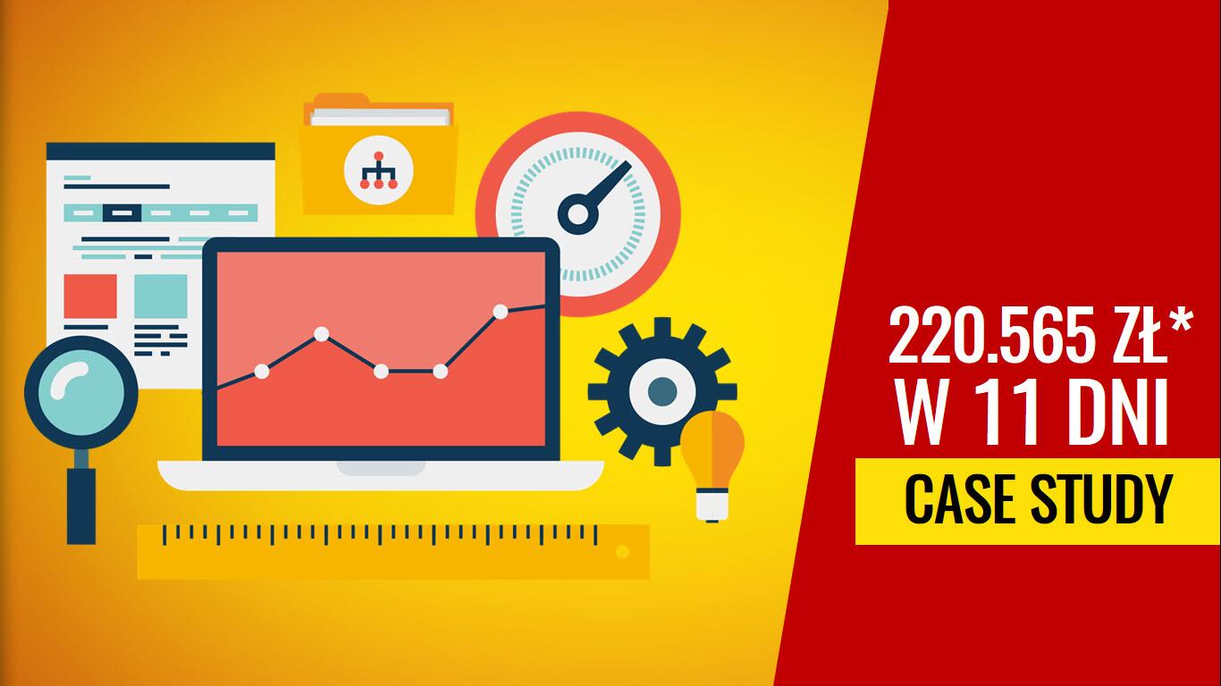 Case study: 220.565 zł* w 11 dni ze sprzedaży kursu online
