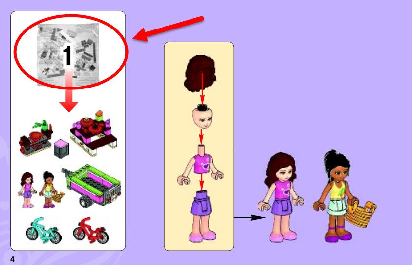 Lego Friends - instrukcja cz. 02